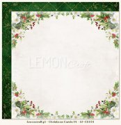 Papper Lemoncraft 12x12 - Christmas Carols 04
