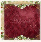 Papper Lemoncraft 12x12 - Christmas Carols 05