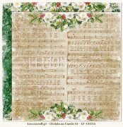 Papper Lemoncraft 12x12 - Christmas Carols 06