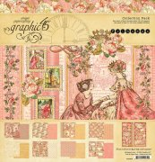 Papperpack 12x12 Graphic 45 - Princess
