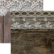 Papper Reminisce - Vintage Lace - Lace & Wood Too