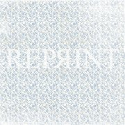 Papper Reprint - Dusty Blue - Small blue flowers