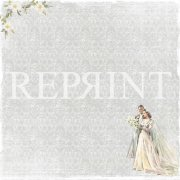 Papper Reprint - I do - Bride & Groom