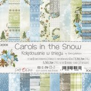 Pappersblock Craft O Clock - Carols in the Snow - 6x6 Tum