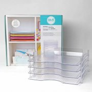 Pappersförvaring We R Memory Keepers - Stackable Paper Trays - 4 st
