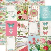 Papper Simple Stories - Simple Vintage Botanicals - 3x4 Elements