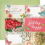 Papper Simple Stories - Simple Vintage Botanicals - 4x6 Elements