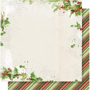 Papper Simple Stories - Simple Vintage Christmas - Be Merry