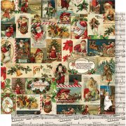 Papper Simple Stories - Simple Vintage Christmas - Jolly Holidays