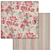 Papper Stamperia - Wallpaper With Roses