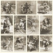 Vintage Bilder Pion Design - Christmas Joy - From Grandma's Attic