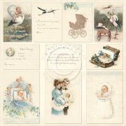 Vintage Bilder Pion Design - Images From the Past - Sweet Baby II