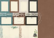 Papper Pion - Mister Toms Treasures - Memory Notes
