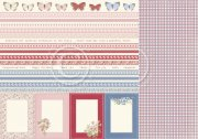 Papper Pion Design - Patchwork of Life - Borders