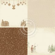 Papper Pion Design - Christmas Wishes - Gingerbread Land 6x6