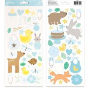 Stickers Pebbles - Lullaby - Baby Boy Icons & Accents