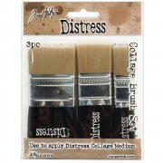 Pensel Set 3-pack - Tim Holtz Distress Collage Brush Assortment