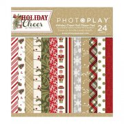 Paper Pad 6x6 - Photo Play - Holiday Cheer 24 ark