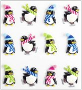 Epoxy 3D Stickers Jolee's - Holiday Penguins - 12 Pingviner