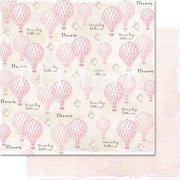 Papper Reprint - Dream big - Pink air balloons