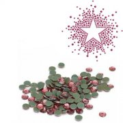 Silhouette Iron-On Crystals Pink 3mm - Ca 400 st