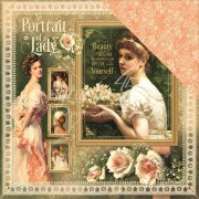 Portrait of a lady Graphic45 Scrapbooking Papper