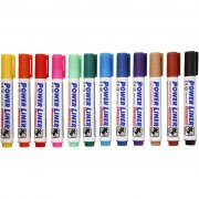 Mungyo Whiteboardmarkers - 4 mm Spets - 12-pack - BÄST I TEST!