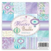 Paper Pad 6x6 Wild Rose Studio - Winter Bauble 36 ark