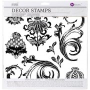 "Clearstamps Set 12""x12"" - Iron Orchid Renaissance - Prima"