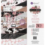 "Paper Pad 12""x12"" - Prima Marketing - Amelia Rose 24 ark"
