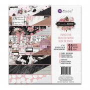 "Paper Pad 6""x6"" - Prima Marketing - Amelia Rose 32 ark"