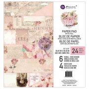 "Paper Pad 12""x12"" - Prima Marketing - Love Story 24 ark"