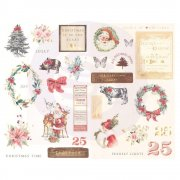Prima Chipboard Stickers - Christmas In The Country