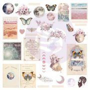 Prima Die Cuts - Moon child Ephemera - 34 st