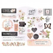 Prima Diecuts & Stickers - Apricot Honey