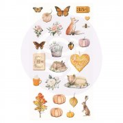 Prima Puffy Stickers - Autumn Sunset - 25 st