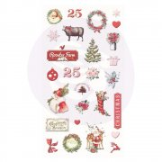 Prima Puffy Stickers - Christmas In The Country