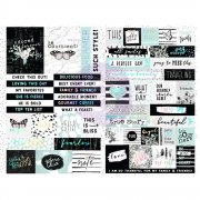 Prima Stickers - Flirty Fleur - Words & Quotes