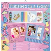 "Finished In A Flash Page Kit 12""x12"" - Hot Off The Press - Disney Princess"