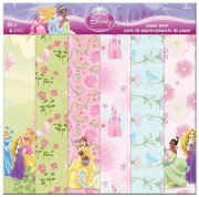 "Paper Pack 12""x12"" - Disney Princess 12 ark"