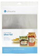 Silhouette Printable Silver Foil - 8 st A4 ark