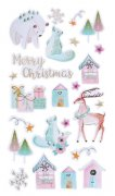 Puffy Stickers - Frosted Friends - 24 st