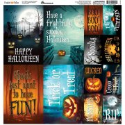 Stickers 12x12 Reminisce - Pumpkin Hollow