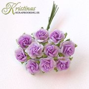Mulberry Rose - 10 mm - Light Purple