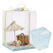 Presentask 3 st - Display Box - Transparent - 5 cm