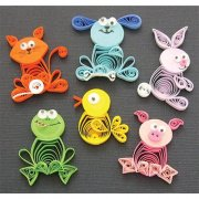 Quilling Kit - Animal Buddies