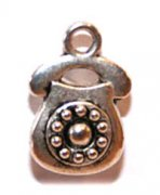 Charms 3 st - Telefon 15mm ++