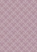 Papper A4 Basic - Vintage Lilac Swirls