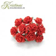 Mulberry Rose - 10 mm - Red