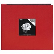 "Album 8""x8"" Pioneer - Snapload Sewn Leatherette - Red"